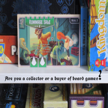 Are you a collector or a buyer of board games?