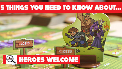 5 Things You Need To Know About Heroes Welcome