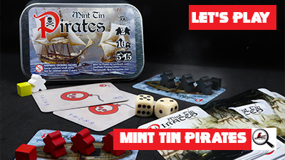 Let's Play: Mint Tin Pirates
