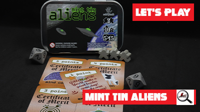 Let's Play: Mint Tin Aliens