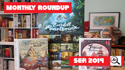 Monthly Roundup September 2019