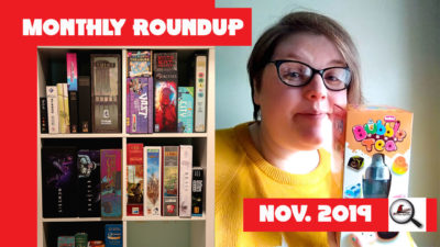 Monthly Roundup November 2019