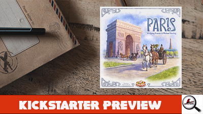 Paris Kickstarter Preview
