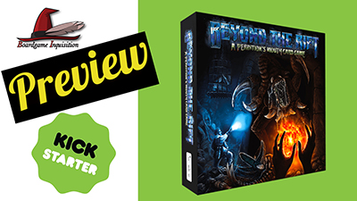 Beyond The Rift: A Perdition's Mouth Card Game Kickstarter Preview